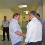 Νυχτερινή επίσκεψη του βουλευτή στο Νοσοκομείο