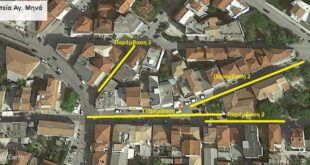 Υπεγράφη η σύμβαση ανάπλασης της περιοχής Αγίου Μηνά