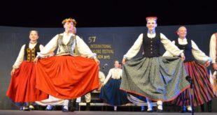 57ο Φεστιβάλ φολκλόρ: Χορεύουν Λετονία και Ιράν