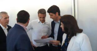Συνάντηση του Δημάρχου με τον Πρωθυπουργό