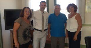 Επίσκεψη γνωριμίας του Δ.Σ. του Ορφέα στον Αντιπεριφερειάρχη