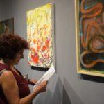 Εγκαίνια της έκθεσης ζωγραφικής στην Αίθουσα Τέχνης