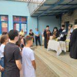 Έγινε ο Αγιασμός στο Λύκειο και Γυμνάσιο Νυδριού