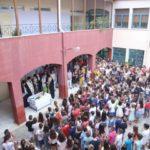Ο Αγιασμός στο Δημοτικό σχολείο Νυδριού