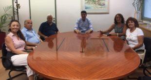 Επίσκεψη γνωριμίας του Ορφέα στον Δήμαρχο Λευκάδας