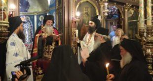 Κουρά νέου μοναχού στην Ιερά Μονή Φανερωμένης Λευκάδας
