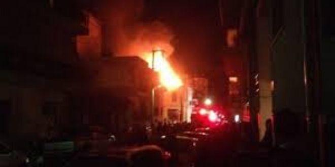 Πυρκαγιά στον Σύβρο – κάηκε μια ηλικιωμένη γυναίκα