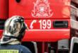 Λεωφορείο άρπαξε φωτιά στο Νυδρί