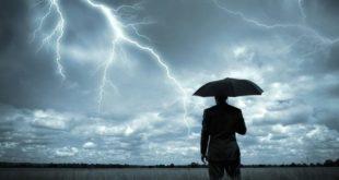 Βροχερός καιρός με ισχυρές καταιγίδες την Τρίτη