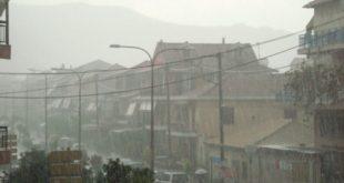 Κακοκαιρία με ισχυρές καταιγίδες & πτώση θερμοκρασίας αύριο