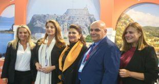 Η Περιφερειάρχης Ι. Ν. στην διεθνή Έκθεση Τουρισμού στο Λονδίνο