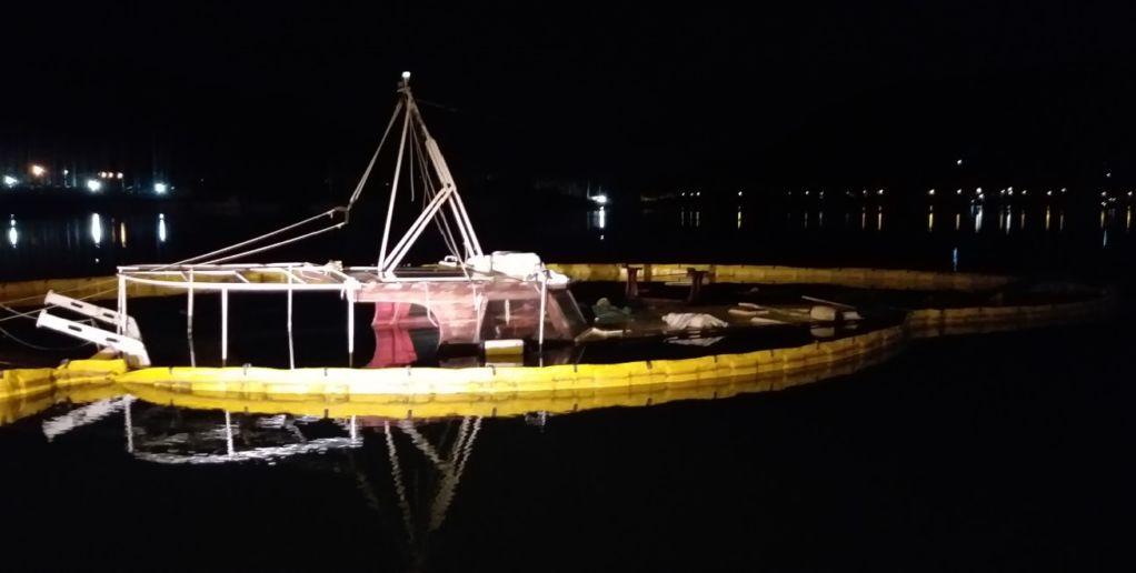 Η φωτο της νύχτας: Το ναυάγιο του Βλυχού