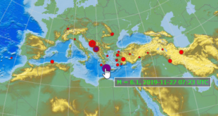 Ισχυρός σεισμός 6,1 ανάμεσα Κύθηρα Κρήτη, ταρακουνά και την Αθήνα