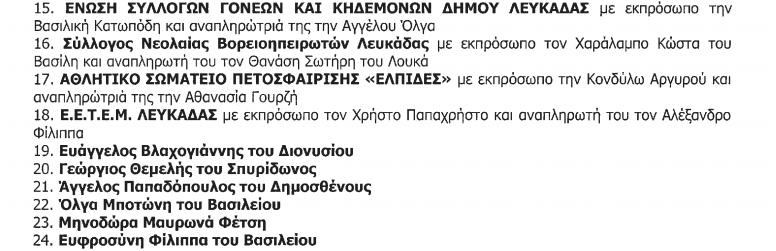 Πρόσκληση της Επιτροπής Διαβούλευσης σε συνεδρίαση
