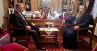Επίσκεψη του Βουλευτή στον Σεβασμιότατο Μητροπολίτη