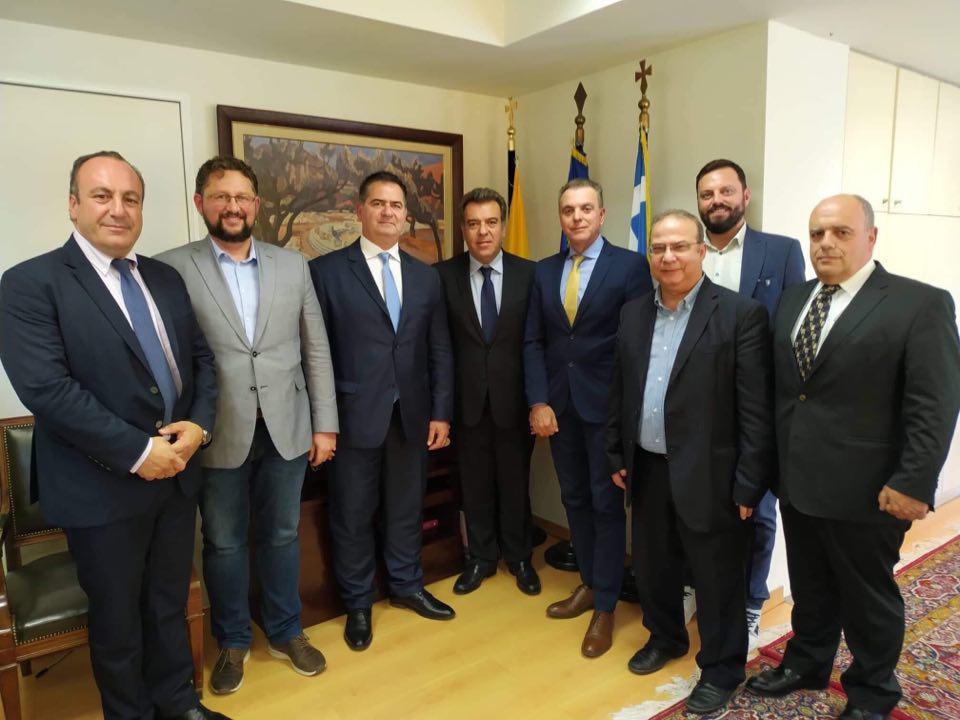 Συνάντηση προέδρου του Ε.Ο.Α.Ε.Ν. με τον υφυπουργό Τουρισμού