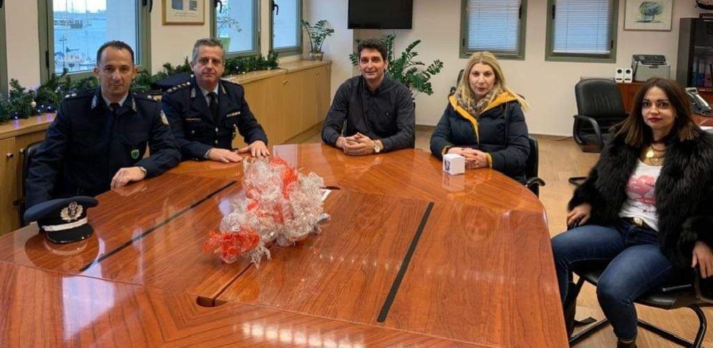 Ο Δήμος Λευκάδας ευχαριστεί την Αστυνομική Διεύθυνση
