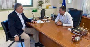 Συναντήσεις του βουλευτή με Αντιπ/ρχη, Δήμαρχο & Λ.Τ.