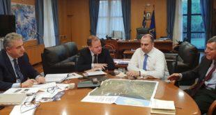 Το υπουργείο Υποδομών ανακινεί το θέμα της ζεύξης