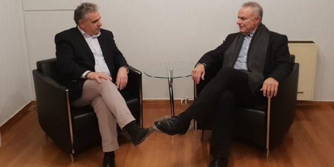 Συνάντηση Θ. Καββαδά με τον κ. Θόδωρο Σολδάτο