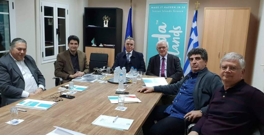 Συνάντηση με στελέχη του Ελληνικού Κέντρου Θαλασσίων Ερευνών