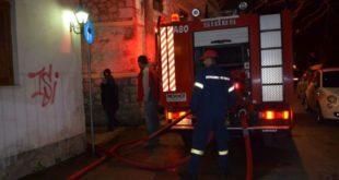 Συμβαίνει τώρα: Πυρκαγιά στην πόλη της Λευκάδας