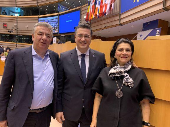 Στις βασικές Επιτροπές της Ε.Ε. η περιφερειάρχης κα Ρόδη Κράτσα