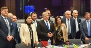 Συναντήσεις της Πριφερειάρχου Ι.Ν. με αξιωματούχους στις Βρυξέλλες