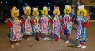 Νυχτερινή παρέλαση του Συλλόγου των Καρναβαλιστών