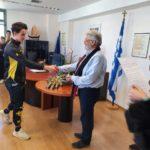 Βραβεύσεις αθλητών του Ευκλέα για Πανευρωπαϊκό