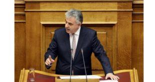 Ομιλία του βουλευτή στη Βουλή για τα υδατοδρόμια