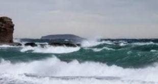Θυελλώδεις άνεμοι στο Ιόνιο…