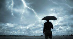 Έκτακτο δελτίο καιρού της ΕΜΥ με θύελλες και καταιγίδες