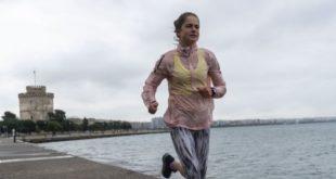 Πρώτο πρόστιμο στη Θεσσαλονίκη σε γυναίκα για τζόκινγκ