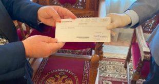 Δωρεά Λ. Πάλμου στο Φιλόπτωχο παρέδωσε ο βουλευτής