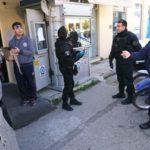Χρηγία αντισηπτικών & μασκών στους αστυνομικούς