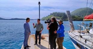 Πλημμύρισε το κανάλι του ΑΛΦΑ από Λευκάδα & Μεγανήσι