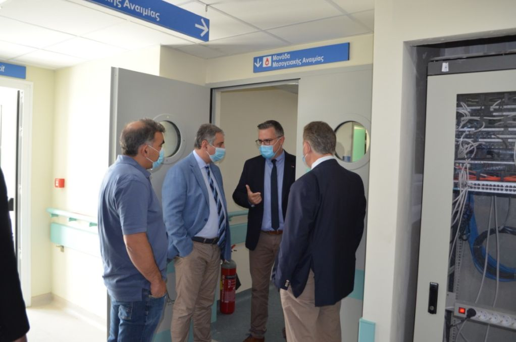 Επίσκεψη του Διοικητή της 6ης ΥΠΕ στις δομές υγείας μας