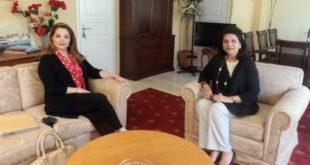 Συνάντηση Περιφερειάρχου Ι. Ν. με την Πρόεδρο του ΕΟΤ
