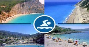 Κατάλληλες για κολύμβηση όλες οι παραλίες μας