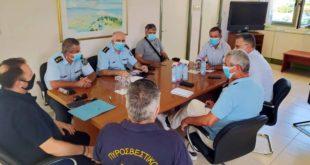 Σύσκεψη αρχών και φορέων στην ΠΕ Λευκάδας