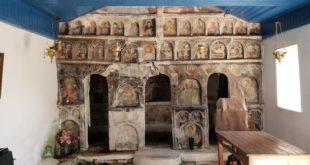 Ο Άγιος Χαράλαμπος Κατωχωρίου σε πορεία αναστήλωσης