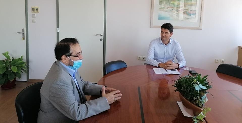 Συνάντηση Δημάρχου με Μορφωτικό Σύμβουλο της πρεσβείας του Ιράν