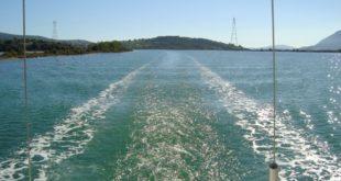 Κλειστή στα σκάφη η διώρυγα της Λευκάδας λόγω …αγωγού
