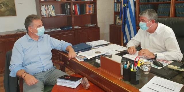 Συνάντηση του βουλευτή με τον υφυπουργό Ανάπτυξης
