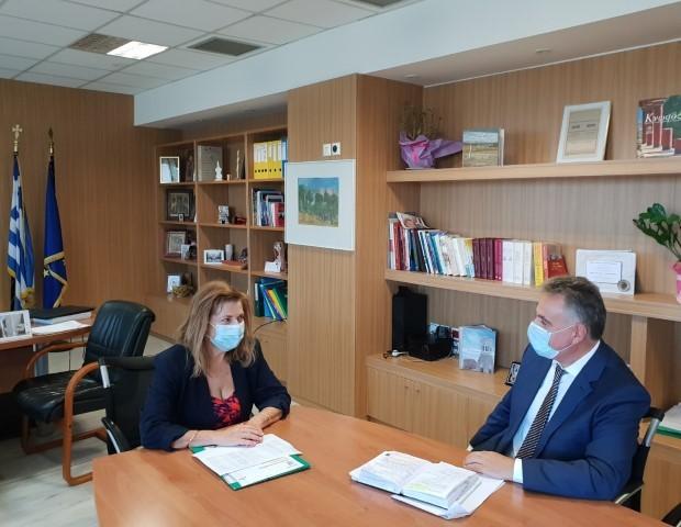 Συνάντηση του βουλευτή με υπουργό Παιδείας