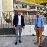 Οι αντιπεριφερειάρχες Π.Π. και Υποδομών στη Λευκάδα