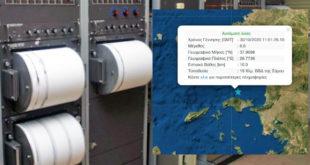 Σεισμός 6,7 Β της Σάμου, ταρακουνήθηκε η μισή Ελλάδα!