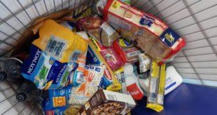 Προσφορά τροφίμων στο Κοιν. Παντ/λειο από το ΑΒ