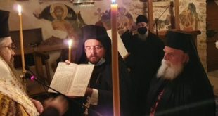 Κουρά μοναχού στην Ι. Μονή του Αγ. Ιωάννη στο Λιβάδι